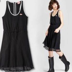 Hunter For Target Mesh Overlay Black Dress Large